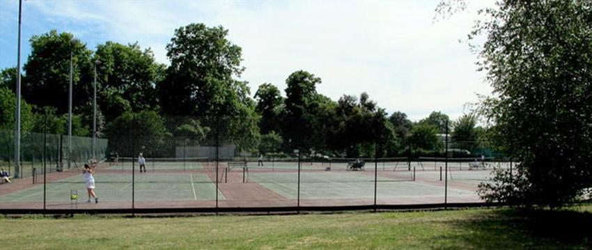 Battersea Park Tennis Courts.
