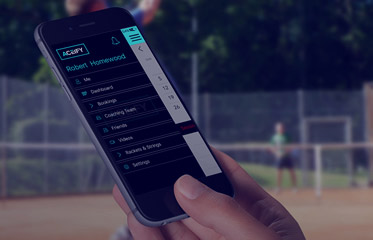 tennis player app