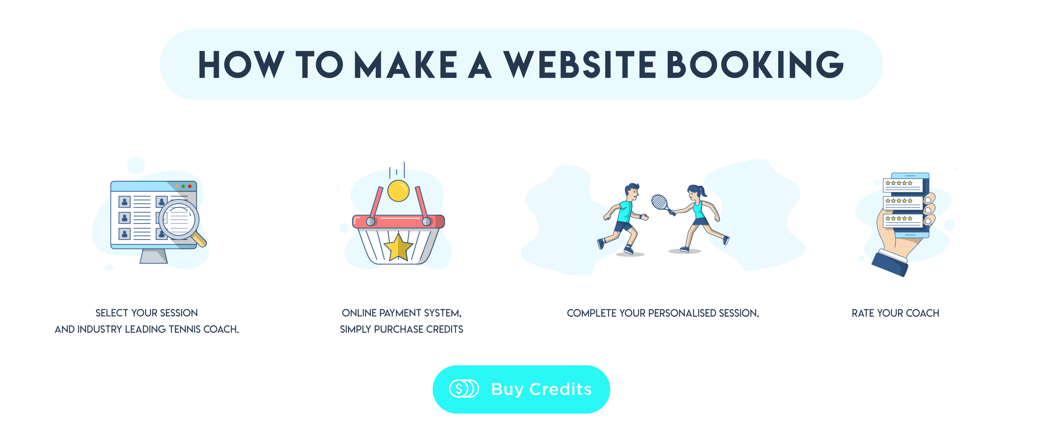 How to make a website booking